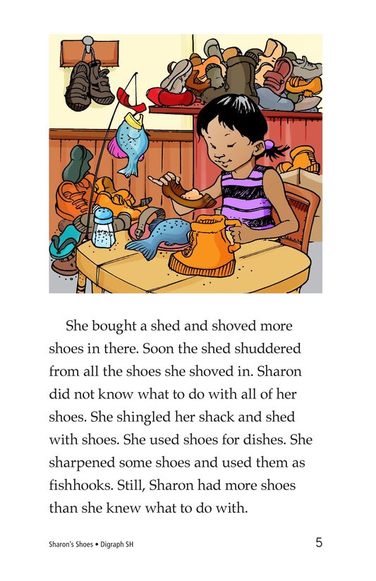 Book Preview For Sharon's Shoes Page 5