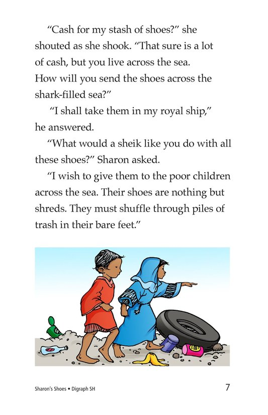Book Preview For Sharon's Shoes Page 7