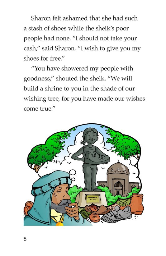 Book Preview For Sharon's Shoes Page 8