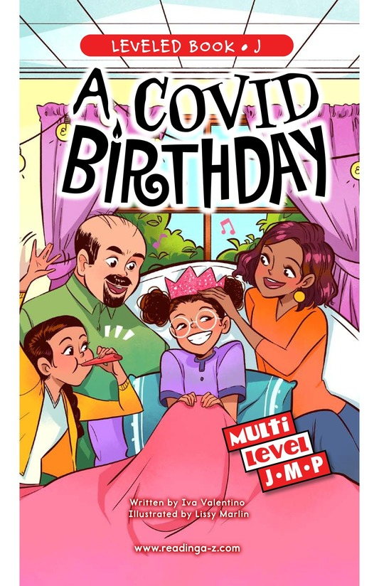 Book Preview For A COVID Birthday Page 0