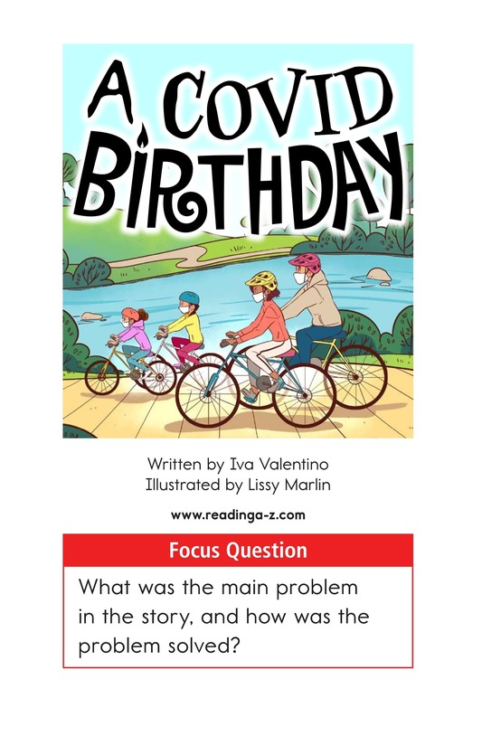 Book Preview For A COVID Birthday Page 1