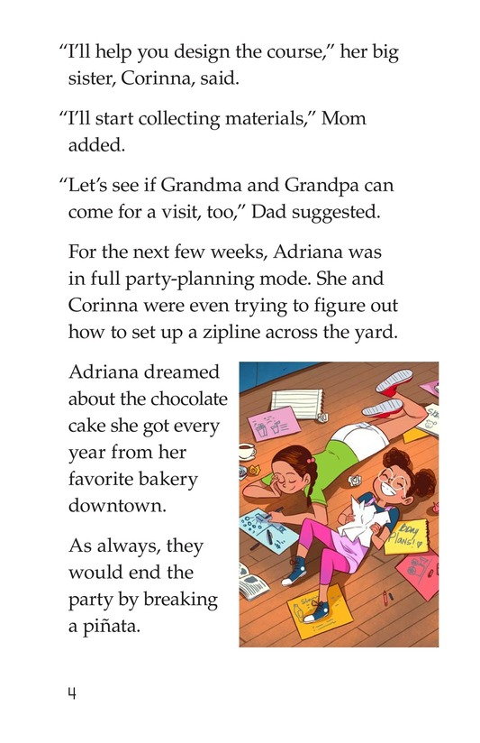 Book Preview For A COVID Birthday Page 4
