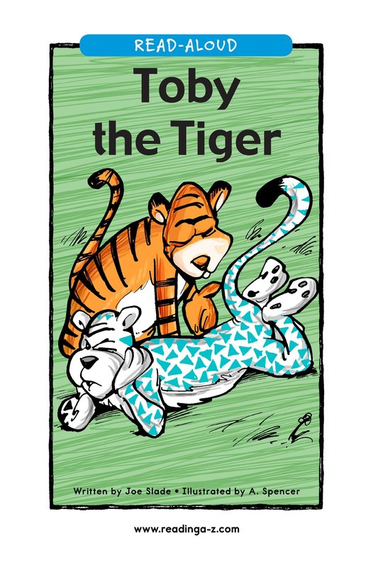 Book Preview For Toby the Tiger Page 1