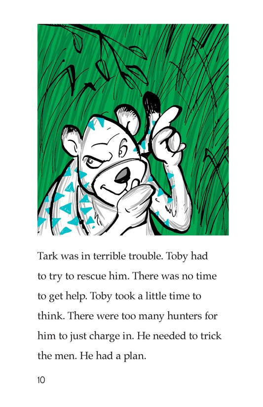 Book Preview For Toby the Tiger Page 10