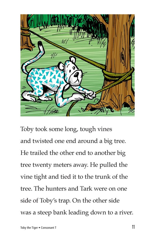 Book Preview For Toby the Tiger Page 11