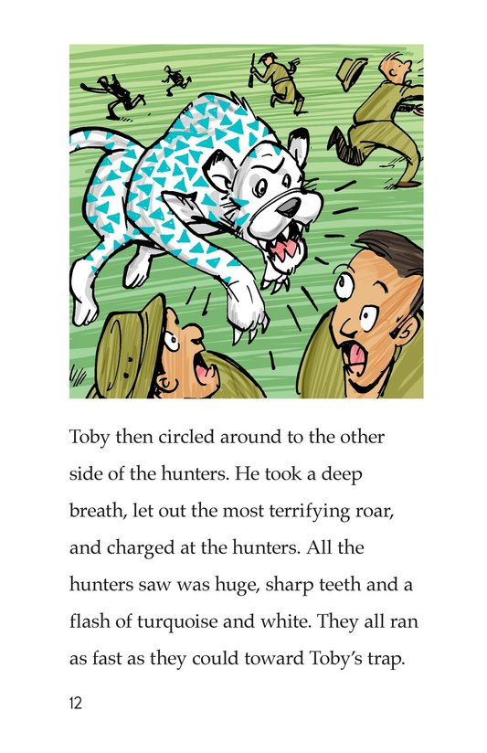 Book Preview For Toby the Tiger Page 12