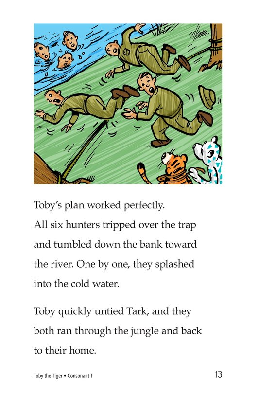 Book Preview For Toby the Tiger Page 13