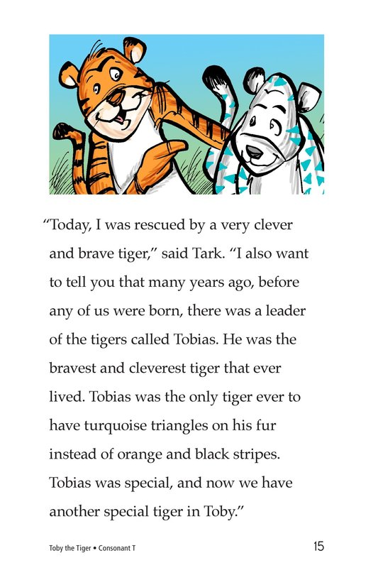 Book Preview For Toby the Tiger Page 15