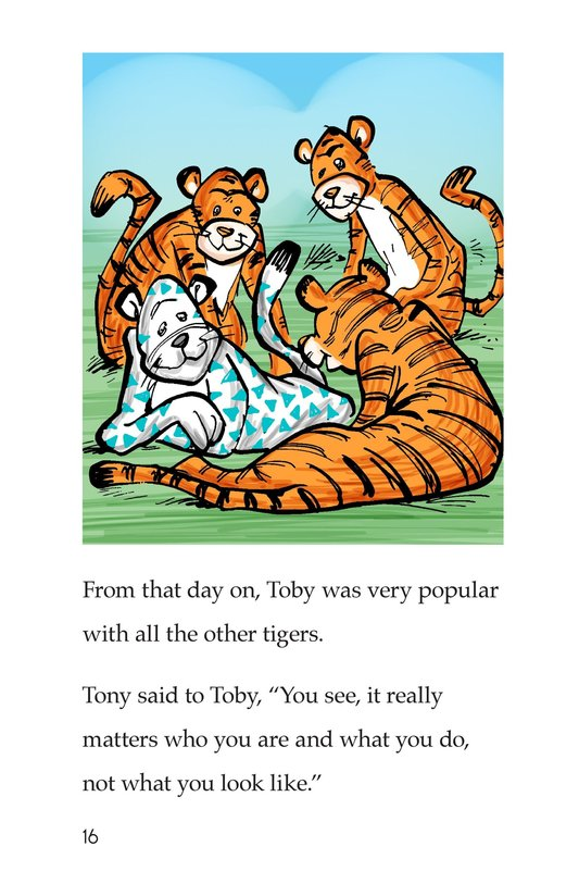Book Preview For Toby the Tiger Page 16