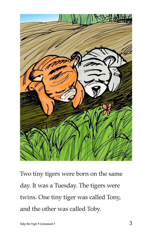 Book Preview For Toby the Tiger Page 3