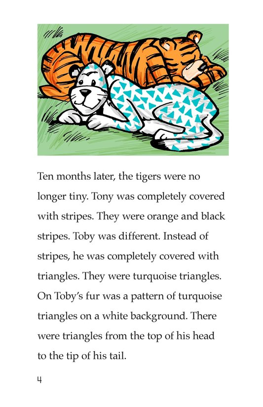 Book Preview For Toby the Tiger Page 4