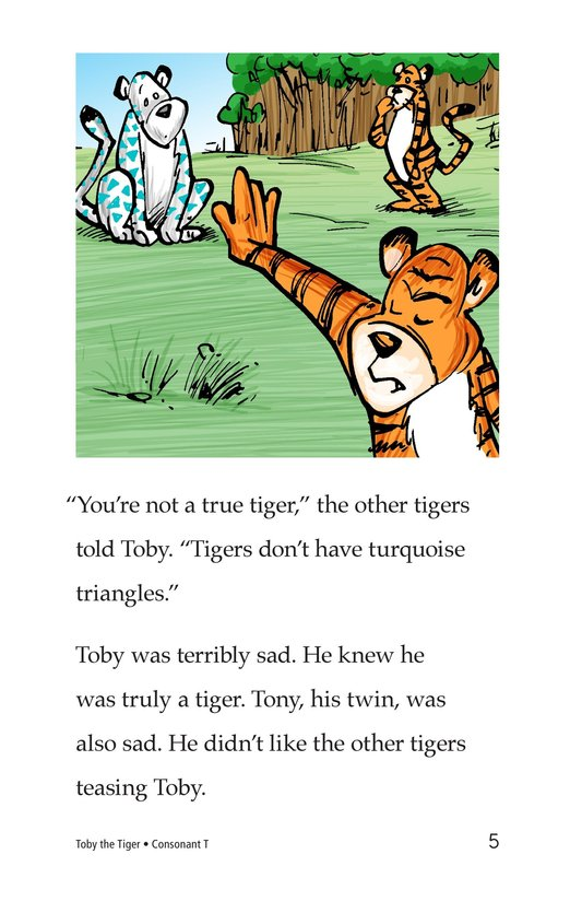 Book Preview For Toby the Tiger Page 5