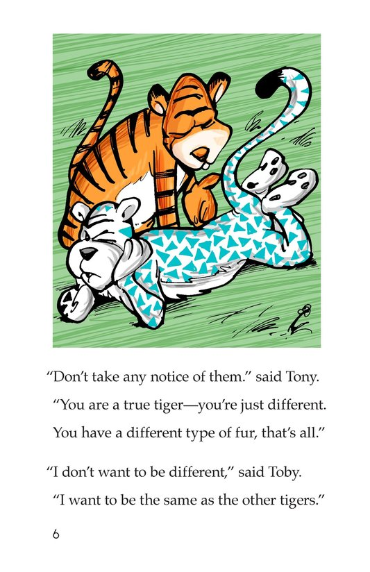 Book Preview For Toby the Tiger Page 6