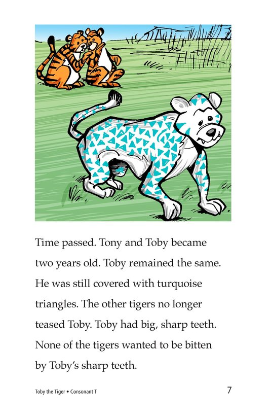 Book Preview For Toby the Tiger Page 7