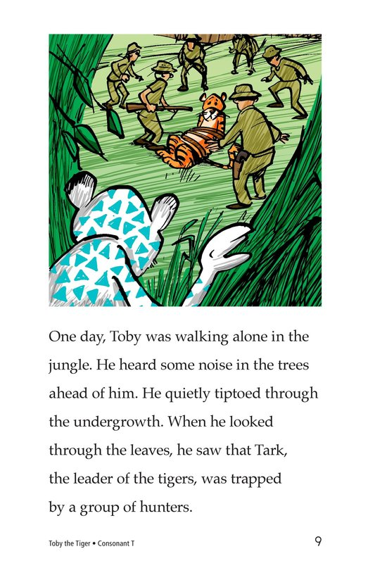 Book Preview For Toby the Tiger Page 9