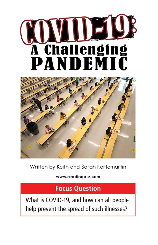 Book Preview For COVID-19: A Challenging Pandemic Page 1