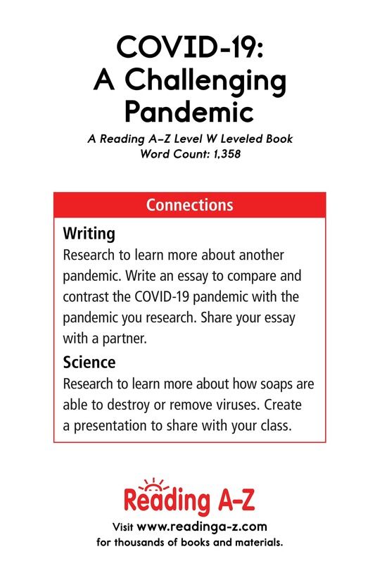 Book Preview For COVID-19: A Challenging Pandemic Page 17