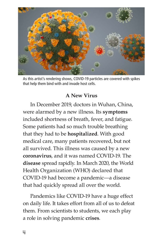 Book Preview For COVID-19: A Challenging Pandemic Page 4