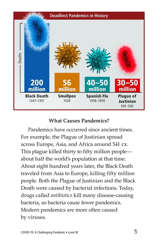 Book Preview For COVID-19: A Challenging Pandemic Page 5