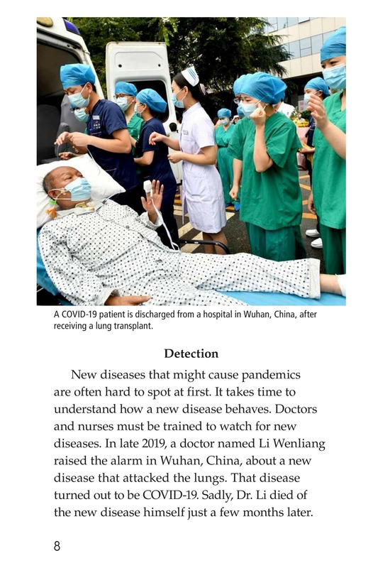 Book Preview For COVID-19: A Challenging Pandemic Page 8