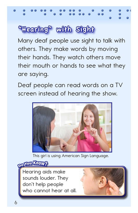 Book Preview For Helping People See and Hear Page 6