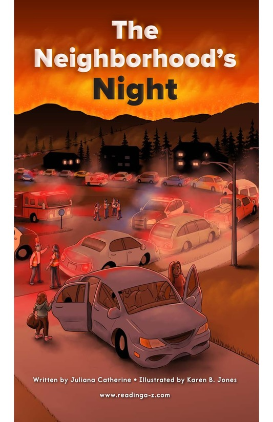 Book Preview For The Neighborhood's Night Page 0
