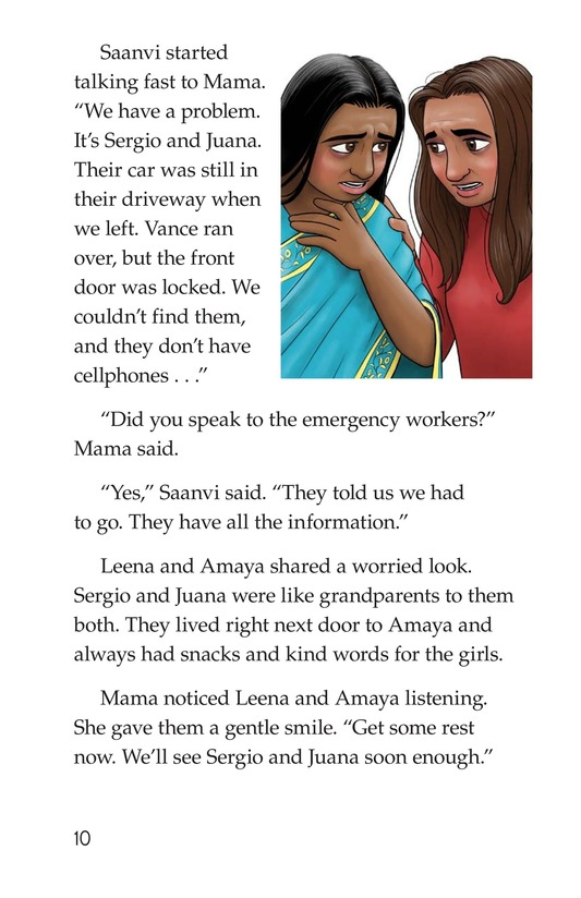 Book Preview For The Neighborhood's Night Page 10