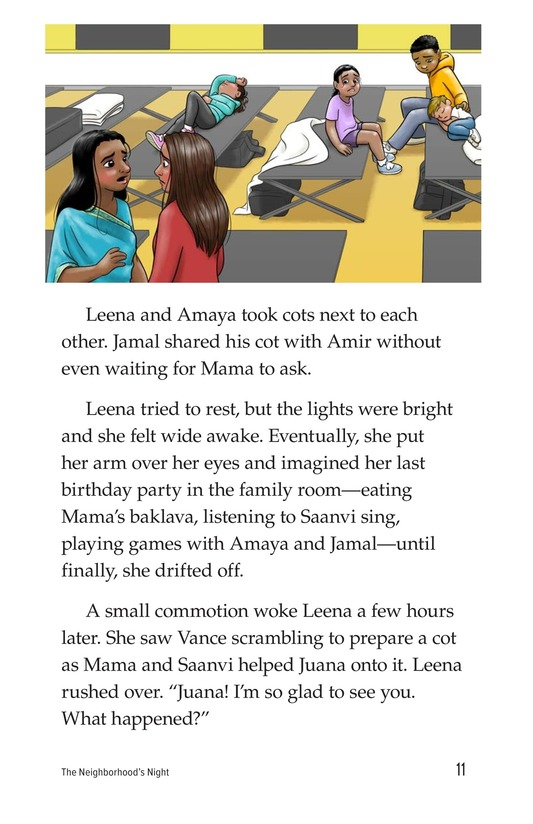 Book Preview For The Neighborhood's Night Page 11