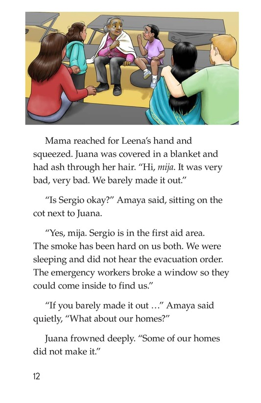 Book Preview For The Neighborhood's Night Page 12