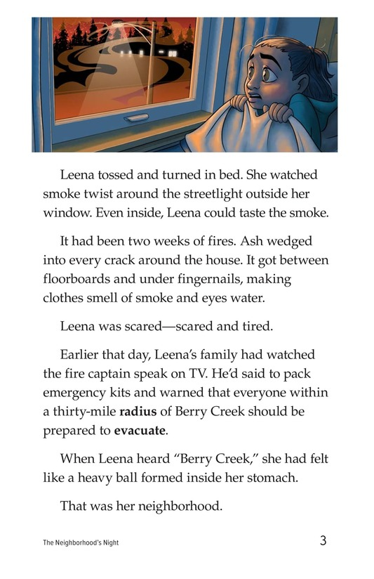 Book Preview For The Neighborhood's Night Page 3