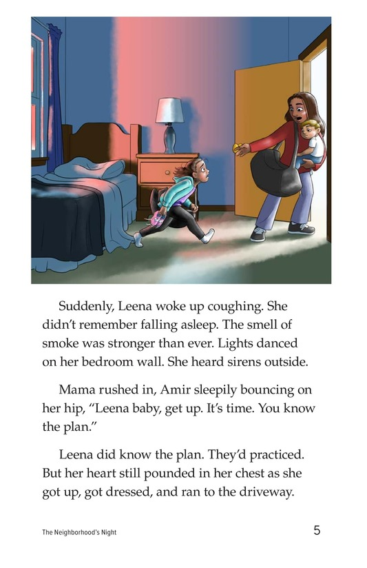 Book Preview For The Neighborhood's Night Page 5