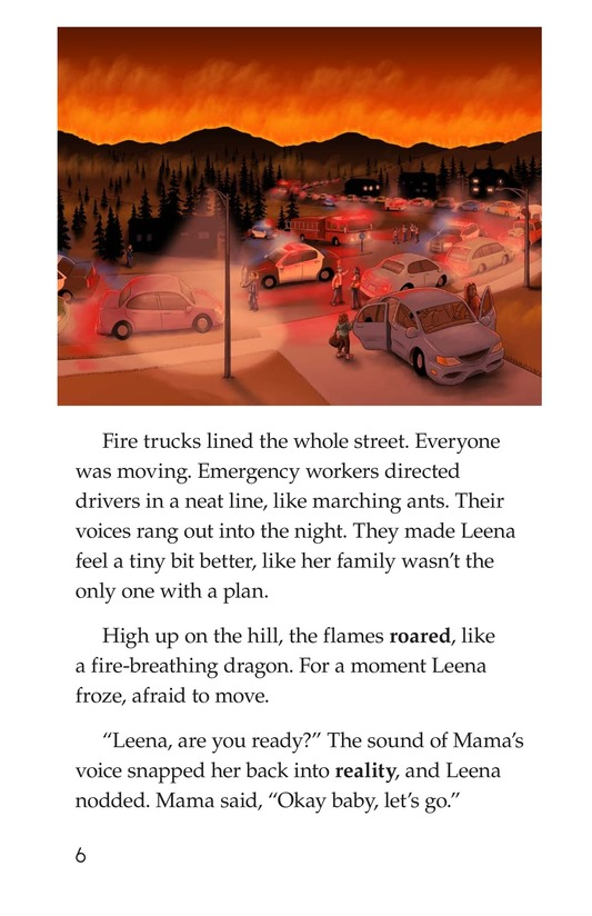 Book Preview For The Neighborhood's Night Page 6