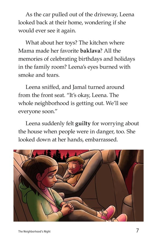 Book Preview For The Neighborhood's Night Page 7