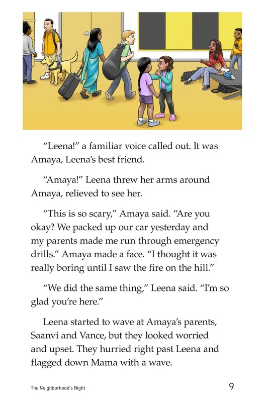 Book Preview For The Neighborhood's Night Page 9
