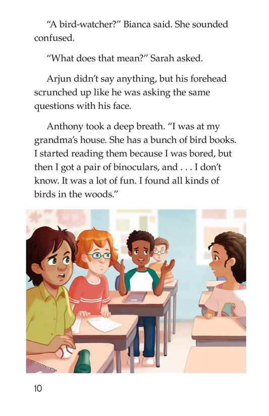 Book Preview For Friends Save the Day Page 10