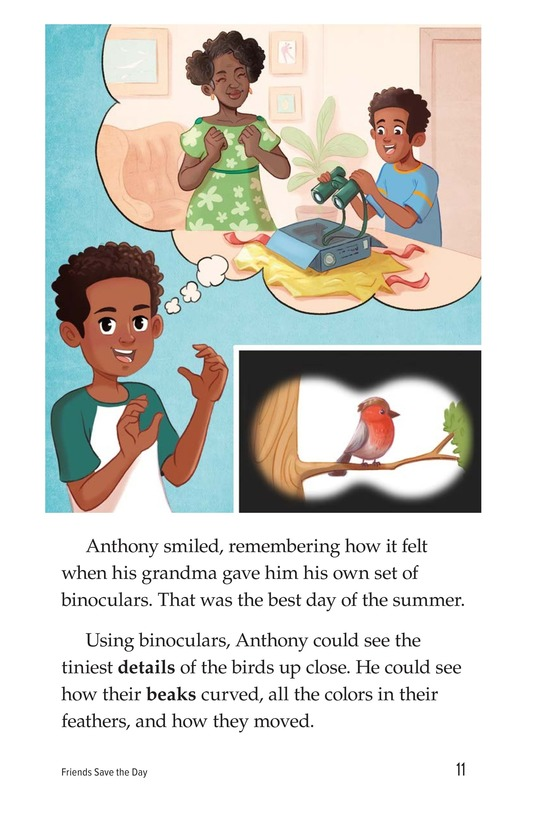 Book Preview For Friends Save the Day Page 11