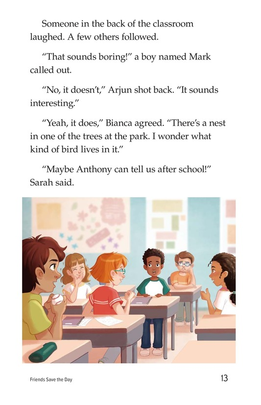 Book Preview For Friends Save the Day Page 13