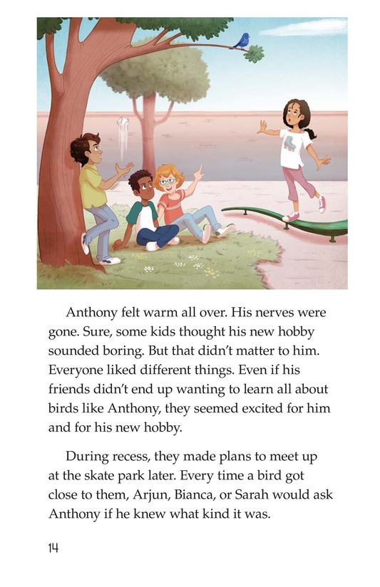 Book Preview For Friends Save the Day Page 14