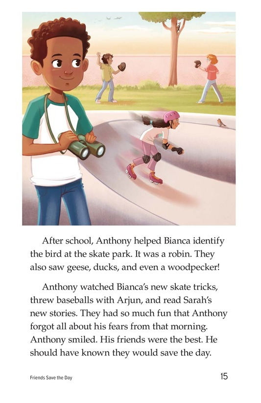 Book Preview For Friends Save the Day Page 15