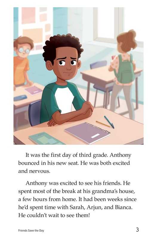 Book Preview For Friends Save the Day Page 3