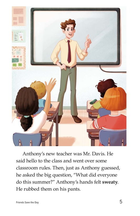 Book Preview For Friends Save the Day Page 5