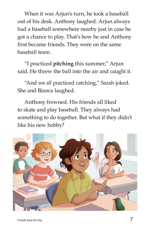 Book Preview For Friends Save the Day Page 7