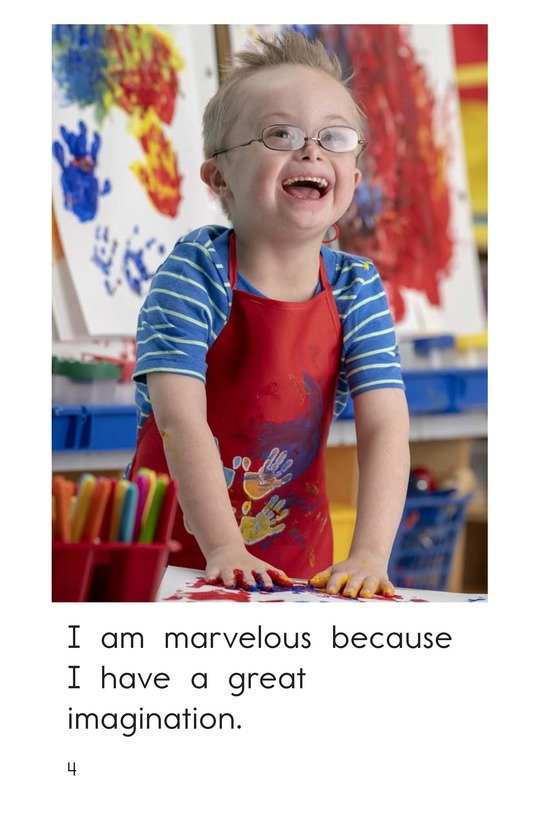 Book Preview For I Am Marvelous Page 4