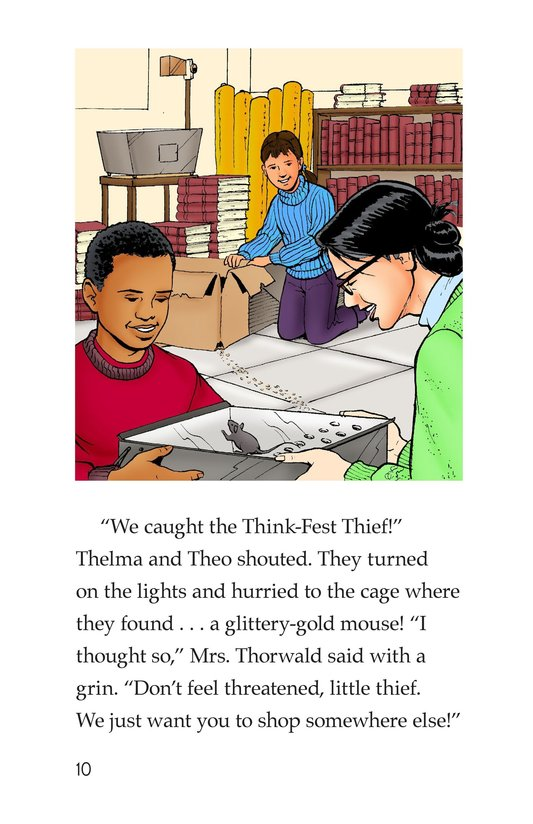Book Preview For The Think-Fest Thief Page 10