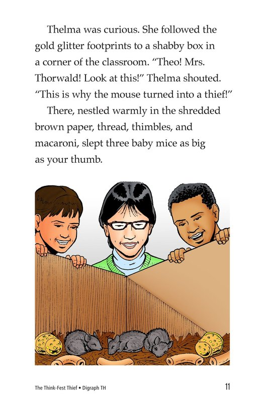 Book Preview For The Think-Fest Thief Page 11