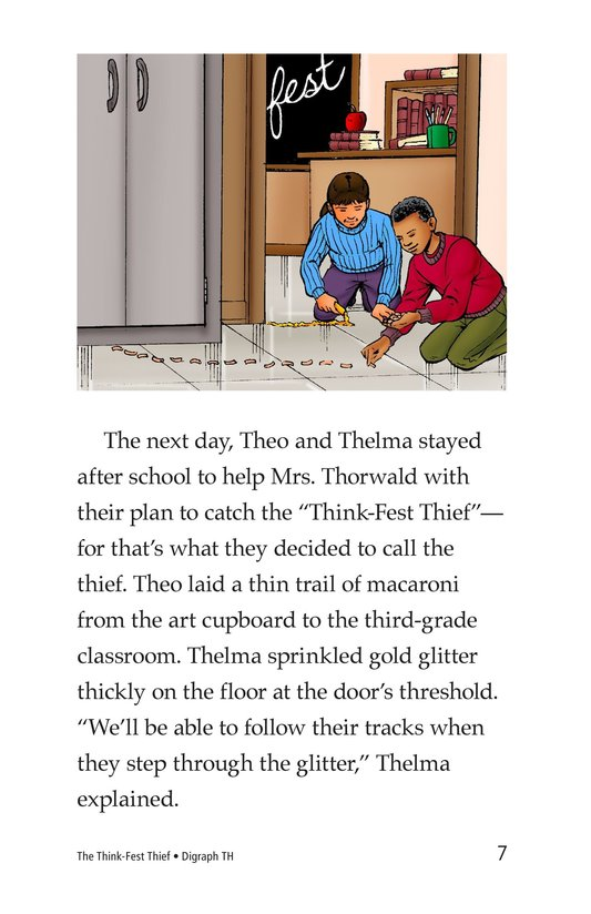 Book Preview For The Think-Fest Thief Page 7