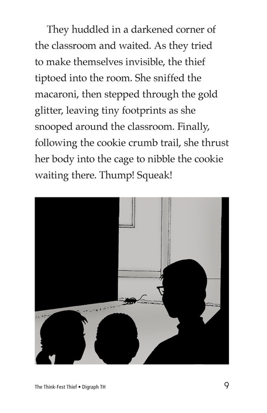 Book Preview For The Think-Fest Thief Page 9