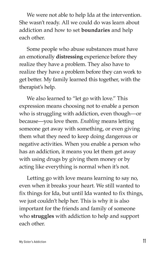 Book Preview For My Sister's Addiction Page 11