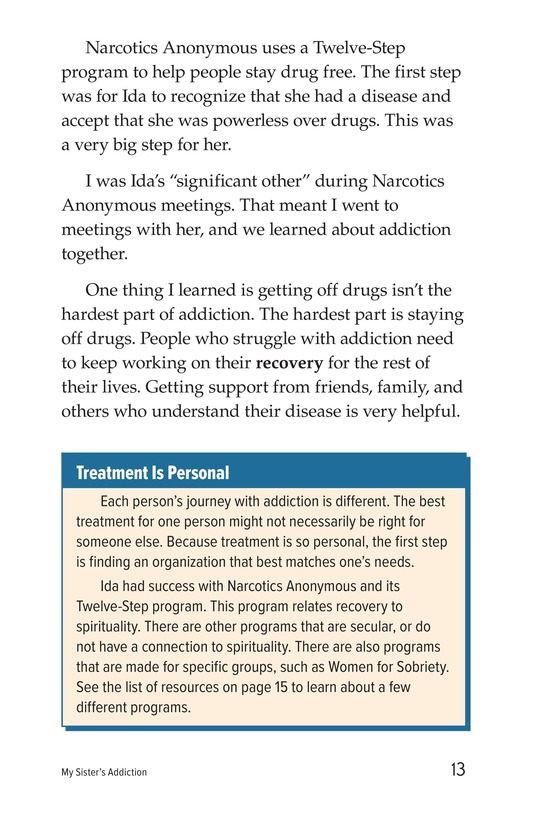 Book Preview For My Sister's Addiction Page 13