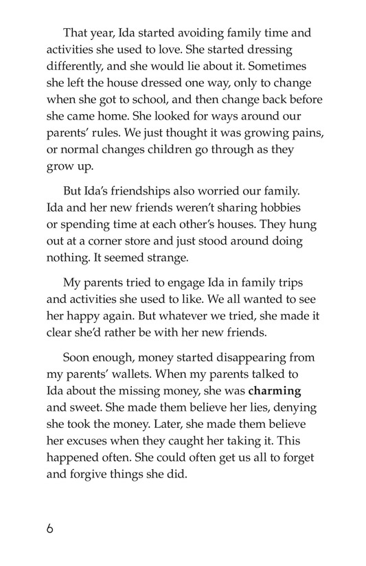 Book Preview For My Sister's Addiction Page 6